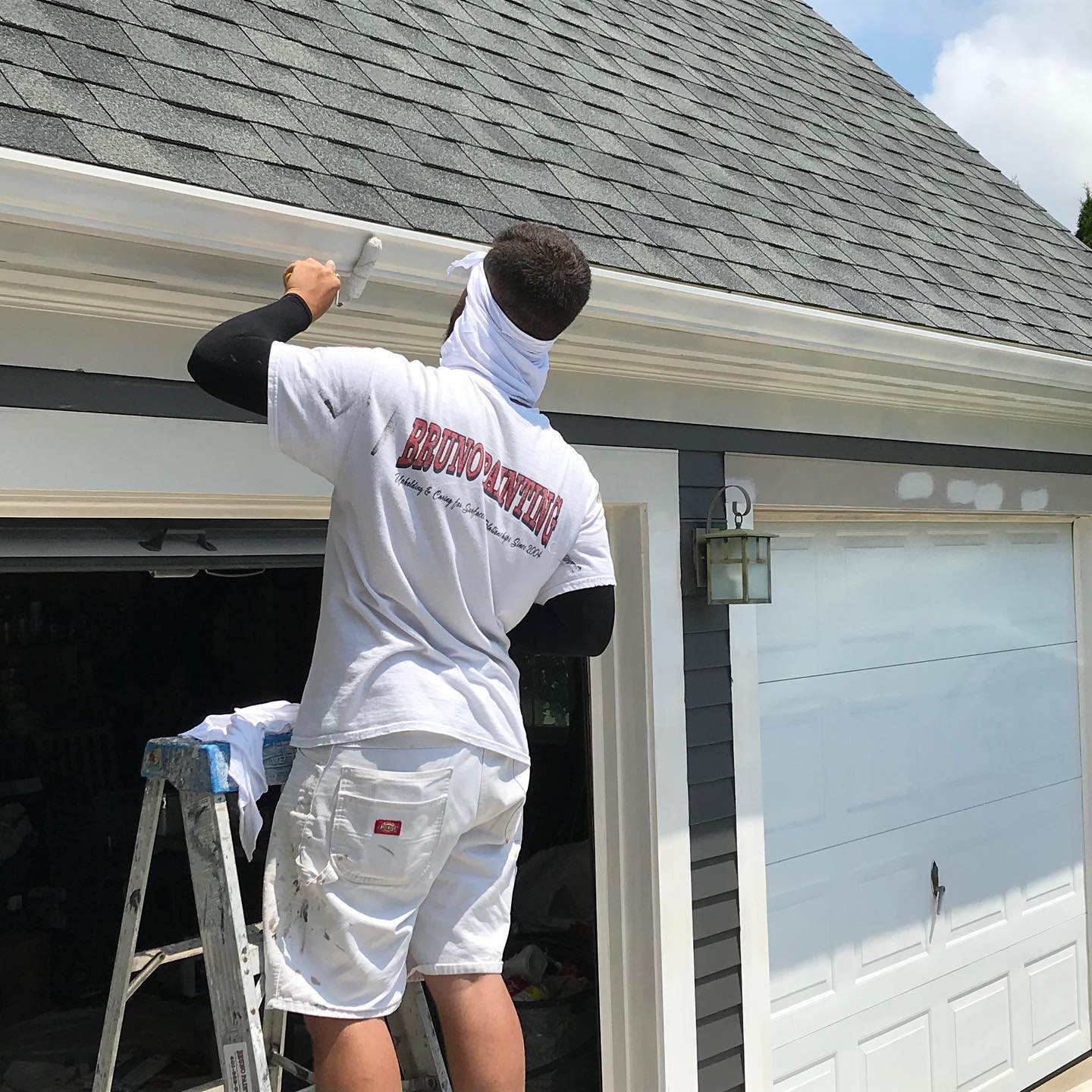 exterior painting for the spring home maintenance checklist