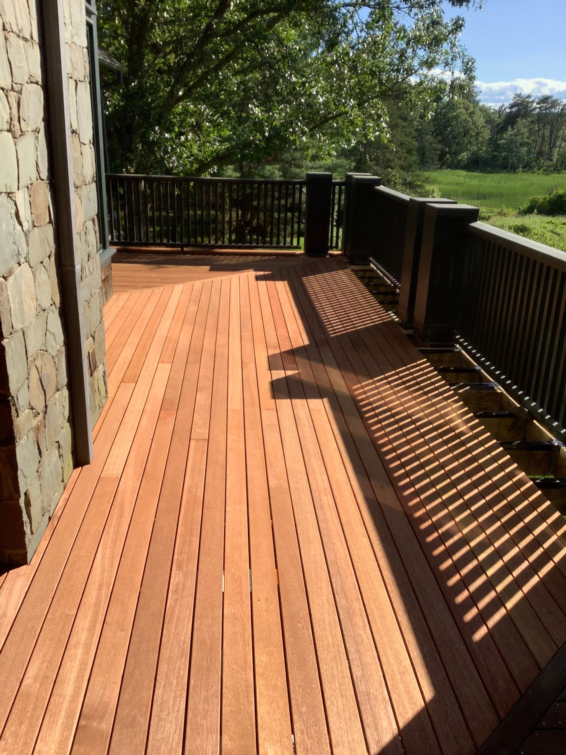 a new deck by bruno painting rhode island contractors